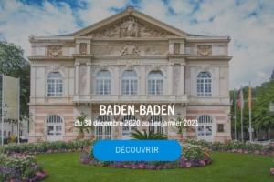 Façade du théâtre de Baden-Baden en Allemagne ©Baden-Baden Kur & Tourismus GmbH