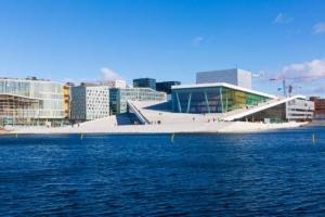 Opéra d'Oslo ©VisitOslo/Didrick Stenersen